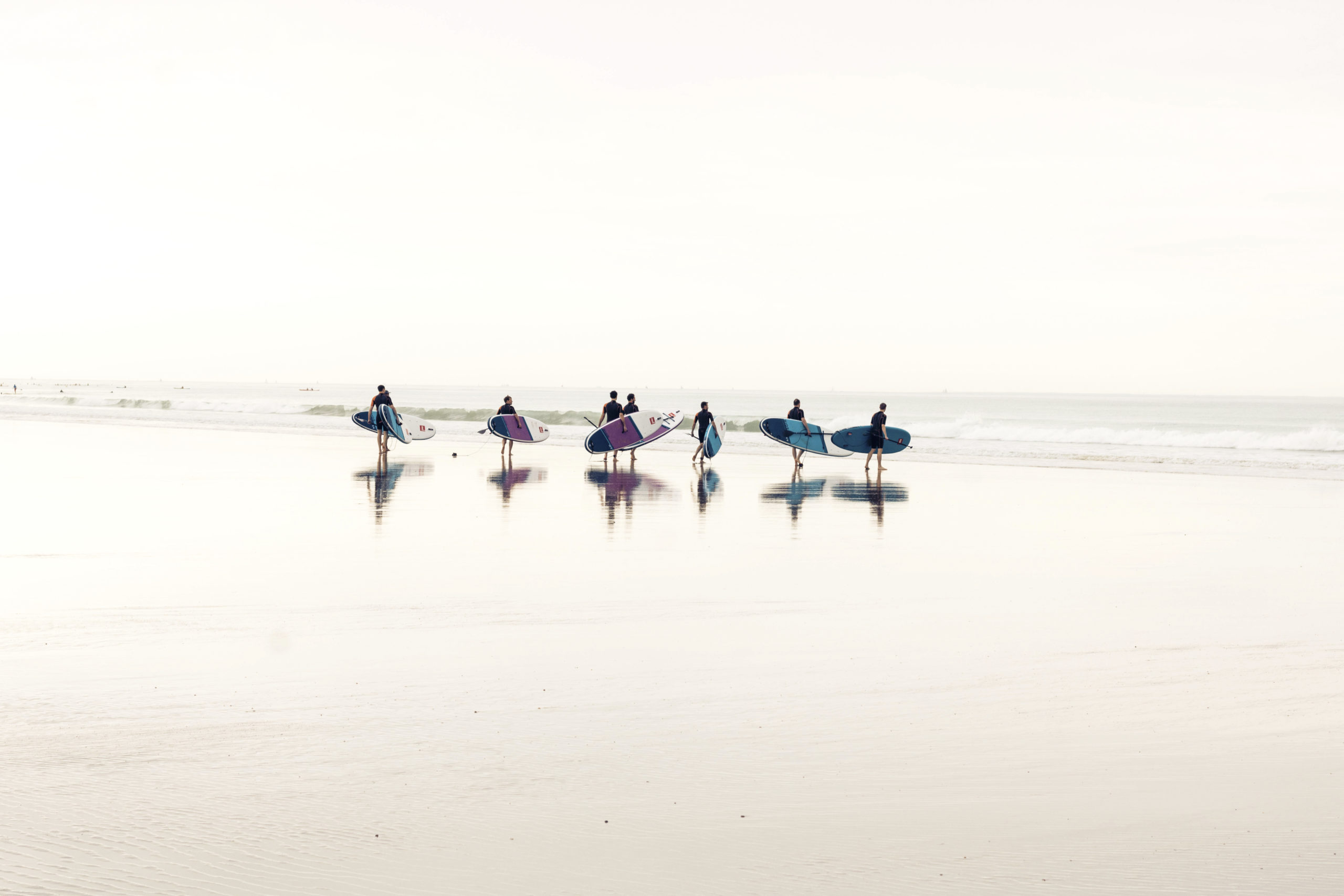 Paddles vers l'Océan